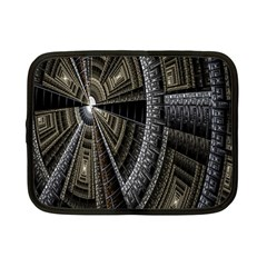 Fractal Circle Circular Geometry Netbook Case (small)  by Celenk