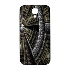 Fractal Circle Circular Geometry Samsung Galaxy S4 I9500/i9505  Hardshell Back Case by Celenk
