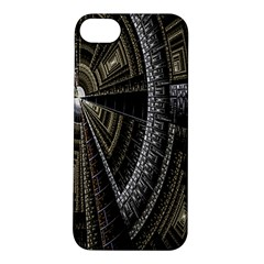 Fractal Circle Circular Geometry Apple Iphone 5s/ Se Hardshell Case by Celenk
