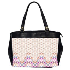 Flower Of Life Pattern 1 Office Handbags (2 Sides)  by Cveti