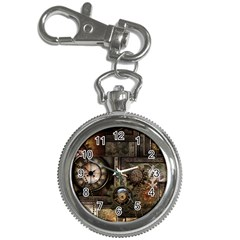 Steampunk, Wonderful Clockwork With Gears Key Chain Watches by FantasyWorld7