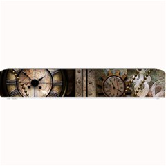 Steampunk, Wonderful Clockwork With Gears Small Bar Mats