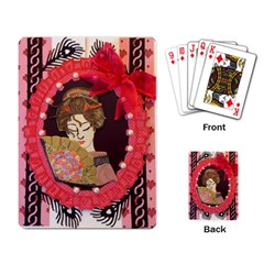 Beauty Playing Card