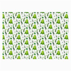 Watercolor Christmas Tree Large Glasses Cloth by patternstudio
