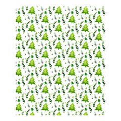 Watercolor Christmas Tree Shower Curtain 60  X 72  (medium)  by patternstudio