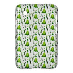 Watercolor Christmas Tree Samsung Galaxy Tab 2 (7 ) P3100 Hardshell Case  by patternstudio