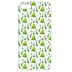 Watercolor Christmas Tree Apple Iphone 5 Hardshell Case With Stand by patternstudio