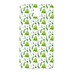 Watercolor Christmas Tree Samsung Galaxy Note 3 N9005 Hardshell Back Case by patternstudio