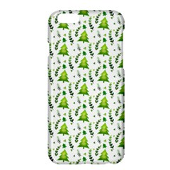 Watercolor Christmas Tree Apple Iphone 6 Plus/6s Plus Hardshell Case by patternstudio
