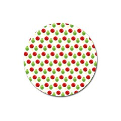 Watercolor Ornaments Magnet 3  (round) by patternstudio