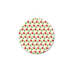 Watercolor Ornaments Golf Ball Marker (4 Pack) by patternstudio