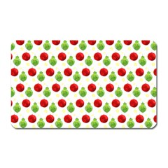 Watercolor Ornaments Magnet (rectangular) by patternstudio