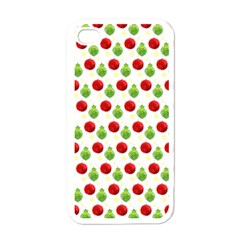 Watercolor Ornaments Apple Iphone 4 Case (white) by patternstudio