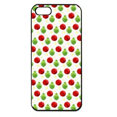 Watercolor Ornaments Apple Iphone 5 Seamless Case (black) by patternstudio