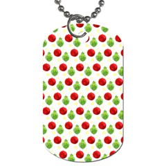 Watercolor Ornaments Dog Tag (two Sides) by patternstudio