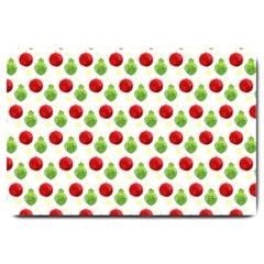 Watercolor Ornaments Large Doormat  by patternstudio
