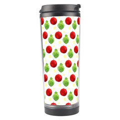Watercolor Ornaments Travel Tumbler by patternstudio