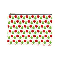Watercolor Ornaments Cosmetic Bag (large)