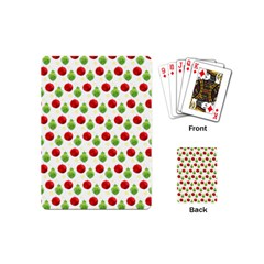 Watercolor Ornaments Playing Cards (mini)  by patternstudio