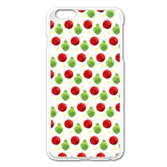 Watercolor Ornaments Apple Iphone 6 Plus/6s Plus Enamel White Case by patternstudio