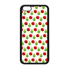 Watercolor Ornaments Apple Iphone 5c Seamless Case (black) by patternstudio