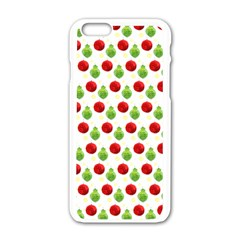 Watercolor Ornaments Apple Iphone 6/6s White Enamel Case by patternstudio