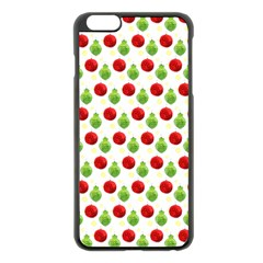Watercolor Ornaments Apple Iphone 6 Plus/6s Plus Black Enamel Case by patternstudio