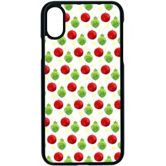 Watercolor Ornaments Apple Iphone X Seamless Case (black) by patternstudio