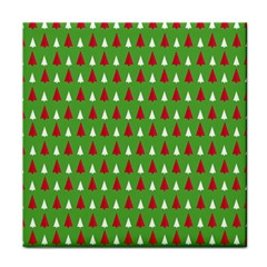 Christmas Tree Tile Coasters by patternstudio