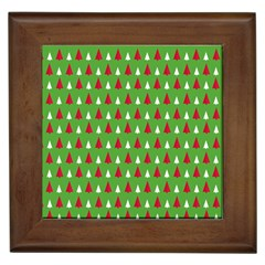 Christmas Tree Framed Tiles by patternstudio