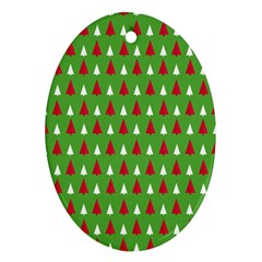 Christmas Tree Ornament (oval) by patternstudio