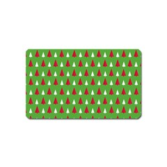 Christmas Tree Magnet (name Card) by patternstudio