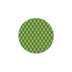 Christmas Tree Golf Ball Marker (4 Pack) by patternstudio