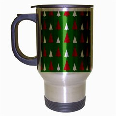 Christmas Tree Travel Mug (silver Gray) by patternstudio
