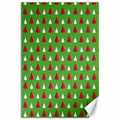 Christmas Tree Canvas 24  X 36  by patternstudio