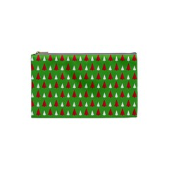 Christmas Tree Cosmetic Bag (small)  by patternstudio