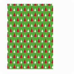 Christmas Tree Large Garden Flag (two Sides) by patternstudio