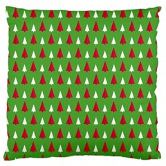 Christmas Tree Large Cushion Case (two Sides) by patternstudio