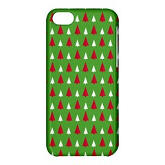 Christmas Tree Apple Iphone 5c Hardshell Case by patternstudio
