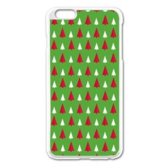 Christmas Tree Apple Iphone 6 Plus/6s Plus Enamel White Case by patternstudio