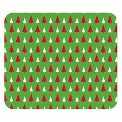 Christmas Tree Double Sided Flano Blanket (small)  by patternstudio