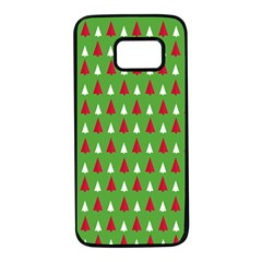 Christmas Tree Samsung Galaxy S7 Black Seamless Case by patternstudio