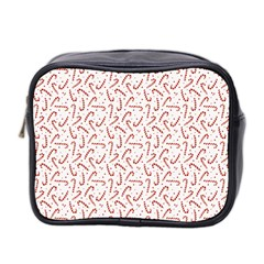 Candy Cane Mini Toiletries Bag 2-side by patternstudio