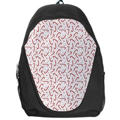 Candy Cane Backpack Bag by patternstudio