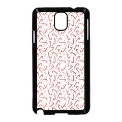 Candy Cane Samsung Galaxy Note 3 Neo Hardshell Case (black) by patternstudio