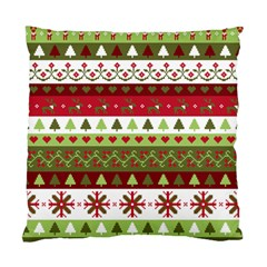 Christmas Spirit Pattern Standard Cushion Case (one Side) by patternstudio