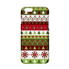 Christmas Spirit Pattern Apple Iphone 6/6s Hardshell Case by patternstudio