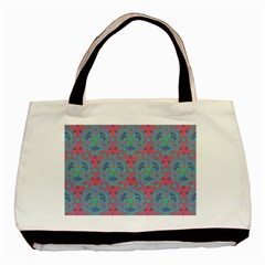 Bereket Pink Blue Basic Tote Bag (two Sides) by Cveti