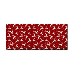 Red Reindeers Cosmetic Storage Cases by patternstudio