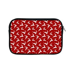 Red Reindeers Apple Ipad Mini Zipper Cases by patternstudio
